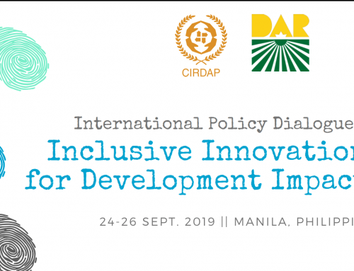 Int. Policy Dialogue on Inclusive Innovations for Development Impacts