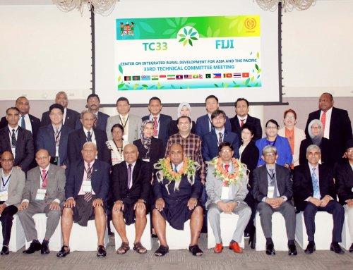The 33rd TC Meeting of CIRDAP held in Fiji