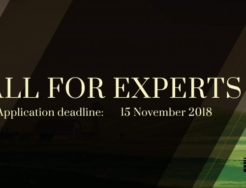 Call for Thematic Experts