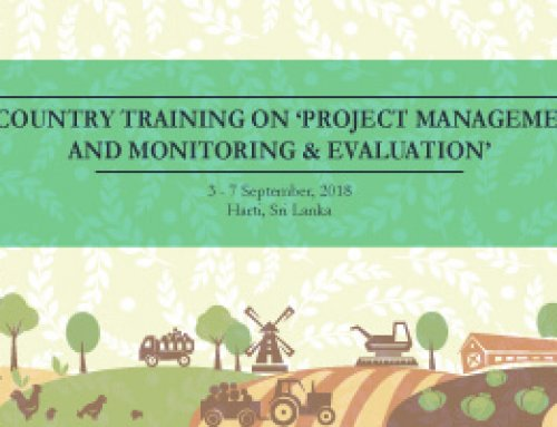 In-country Training on 'Project Management and Monitoring & Evaluation