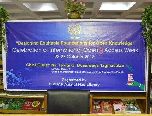 CIRDAP Celebrates International Open Access Week (OA)