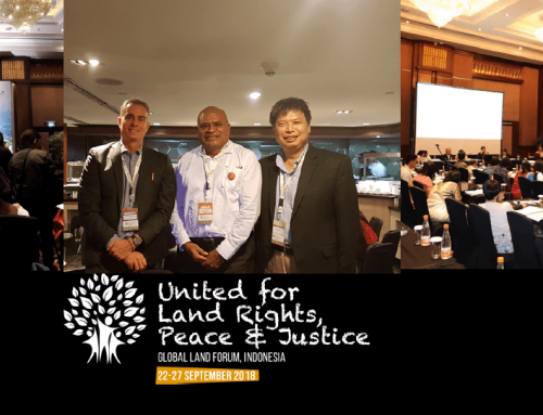 Global Land Forum (GLF) held in Indonesia
