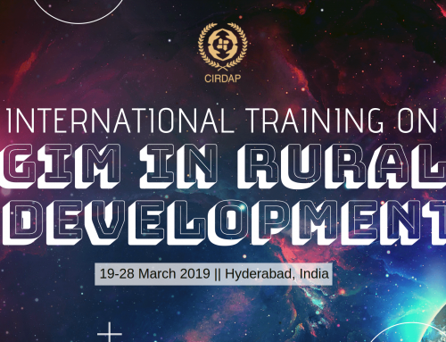 Int. Training on GIM in Rural Development