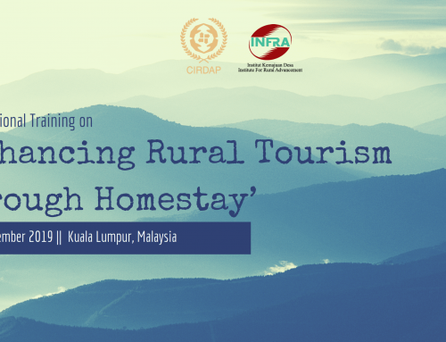 Int. Training on 'Enhancing Rural Tourism through Homestay'