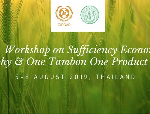 Int. Workshop on Sufficiency Economy Philosophy and One Tambon One Product (OTOP)