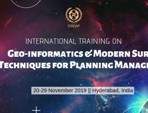 Geo-informatics & Modern Survey Techniques for Planning Management