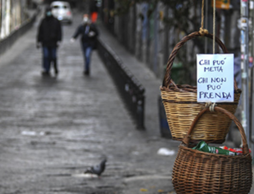 In Naples, Pandemic 'Solidarity Baskets' Help Feed The Homeless