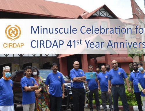 MINUSCULE Celebration for CIRDAP 41st Year Anniversary