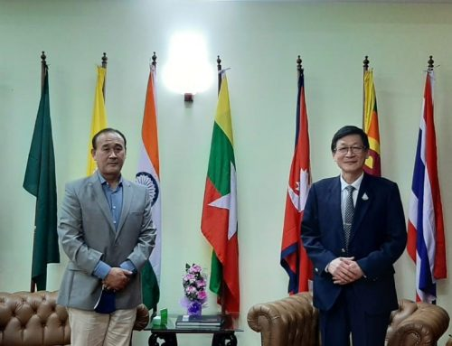 DG CIRDAP MEETS WITH SECRETARY GENERAL OF BIMSTEC