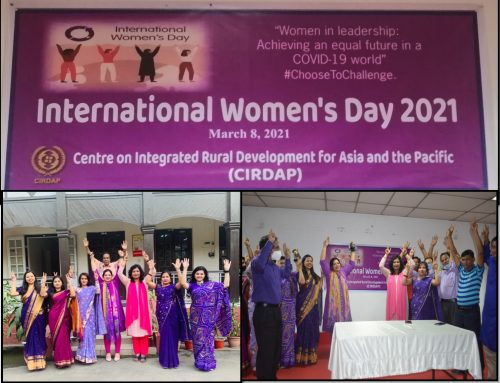 CIRDAP Celebrated the International Women's Day 2021