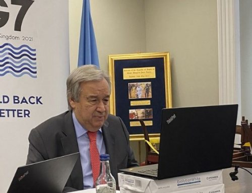 Guterres: Vaccines should be considered 'global public goods'